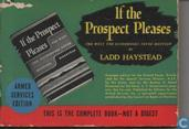 If the prospect pleases