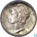 Most valuable item - United States 1 dime 1916 (D)