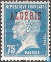 Louis Pasteur, with overprint