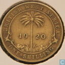 British West Africa 1 shilling 1920 (KN)