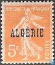 Sower , with overprint
