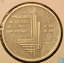 "Luxemburg 500 francs 1997 ""Presidency of the E.C."""