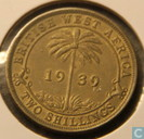 British West Africa 2 shillings 1939 (KN)