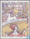 Postage Stamps - France [FRA] - Painting G. Seurat (Circus)