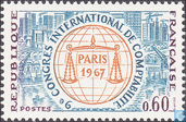 Postage Stamps - France [FRA] - Congress accountants Paris