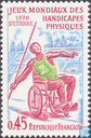 Postage Stamps - France [FRA] - Worldchampionqhip of the disabled
