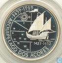 "Portugal 100 escudos 1989 (PROOF) ""Discovery of the Azores"""