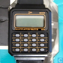 Saxon LCD Calculator watch (black)