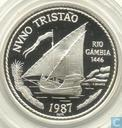"Portugal 100 escudos 1987 (PROOF) ""Nuno Tristao"""