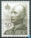 Postage Stamps - Norway - 5000 Black