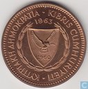 Chypre 5 mils 1963 (PROOF)