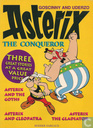 Asterix and the Goths + Asterix and Cleopatra + Asterix the Gladiator