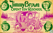 Comics - Jimmy Brown - Jimmy Brown opent een rijschool