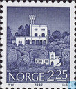 Postage Stamps - Norway - Buildings