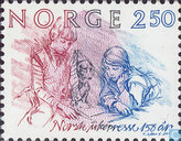 Postage Stamps - Norway - Weekly Newspapers