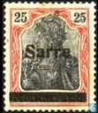 "Germania ' Peace press ' printed ""Sarre"""