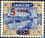 Tug-boat, with overprint