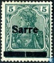 "Germania 'Peace Print', marked ""Sarre\"""