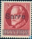 Overprint on stamps Bavaria