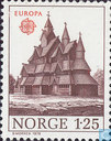 Postage Stamps - Norway - Europe – Monuments