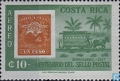 Hundred years stamps