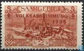 VOLKSABSTIMMUNG in Burbach steelworks with bossing 1935