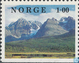 Postage Stamps - Norway - Landscapes