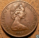 Solomon Islands 2 cents 1977