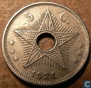 The Belgian Congo 5 centimes 1921