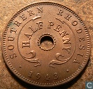 Southern Rhodesia ½ penny 1943