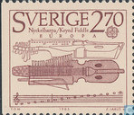 Postage Stamps - Sweden [SWE] - Europe – Music Year
