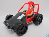 Action Man in buggy