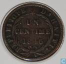 Haiti 1 Centime 1846 (large Cap, 21 mm)