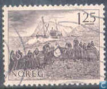 Postage Stamps - Norway - Fisheries