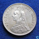 United Kingdom 1 florin 1887