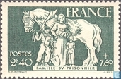 Postage Stamps - France [FRA] - Family of prisoners of war