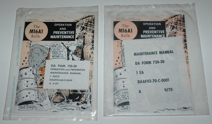 Eisner, Will - The M16A1 Rifle - 2 versies - PS - sc- 1e en 2e druk (1968 / 1969)