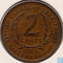 British Caribbean Territories 2 cents 1964
