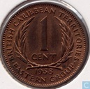 British Caribbean Territories 1 cent 1958