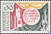 Postage Stamps - France [FRA] - Day Theatre