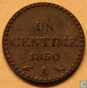 France 1 centime 1850 (A)