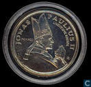 "Lithuania 10 Litu 1993 ""Pope John Paul II in Lithuania"""