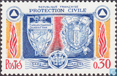 Timbres-poste - France [FRA] - Protection civile