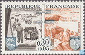 Postage Stamps - France [FRA] - Liberation 20 years