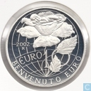 "San Marino 10 euro 2002 (PROOF) ""welcome to the euro"""