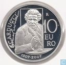 "Munten - San Marino - San Marino 10 euro 2007 (PROOF) ""100th anniversary of the death of Giosuè Carducci"""