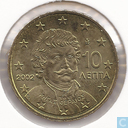 Greece 10 cent 2002 (F)