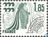 Postage Stamps - France [FRA] - Zodiac signs