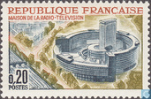 Postage Stamps - France [FRA] - Radio and television building Paris
