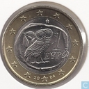 Coins - Greece - Greece 1 euro 2004